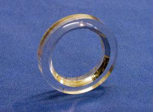 Transparent scintillation element