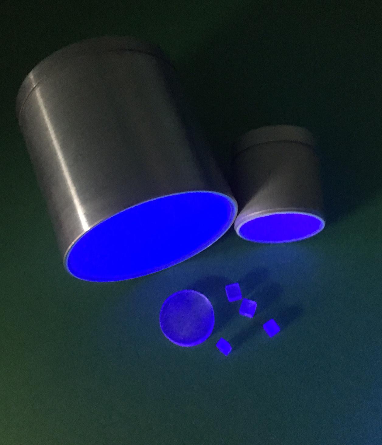 Proteus engineered scintillation material
